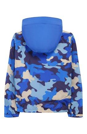 Детского ветровка MONCLER синего цвета, арт. F1-954-1A715-20-539TQ/8-10A | Фото 2