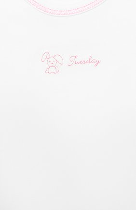 Детское комплект из 7-ми боди KISSY KISSY белого цвета, арт. 28001 | Фото 4