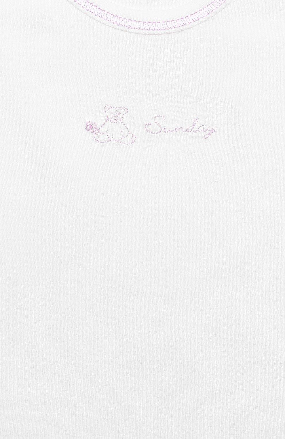 Детское комплект из 7-ми боди KISSY KISSY белого цвета, арт. 28001 | Фото 6