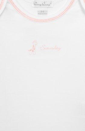 Детское комплект из 7-ми боди KISSY KISSY белого цвета, арт. 28001 | Фото 8