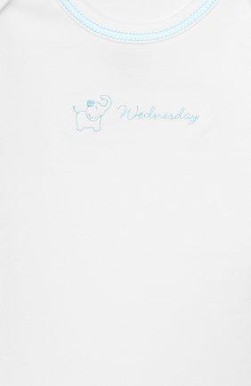 Детское комплект из 7-ми боди KISSY KISSY белого цвета, арт. 28001 | Фото 9