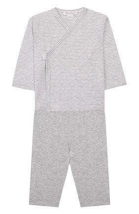 Детский комплект из распашонки и брюк KISSY KISSY белого цвета, арт. 38788 | Фото 1