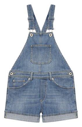 Детский джинсовый комбинезон DONDUP голубого цвета, арт. YP318/DS0107G/AH9 | Фото 1