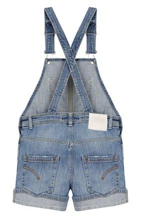 Детский джинсовый комбинезон DONDUP голубого цвета, арт. YP318/DS0107G/AH9 | Фото 2