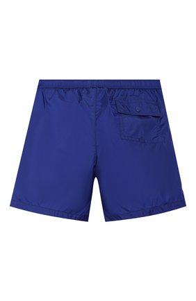 Детские плавки-шорты MONCLER синего цвета, арт. F1-954-2C701-20-53326/8-10A | Фото 2