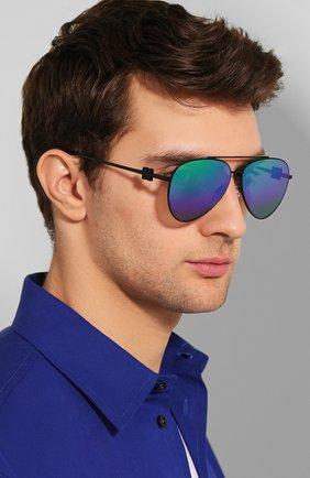 Мужские солнцезащитные очки OFF-WHITE черного цвета, арт. 0MRI004S202530201000 | Фото 2