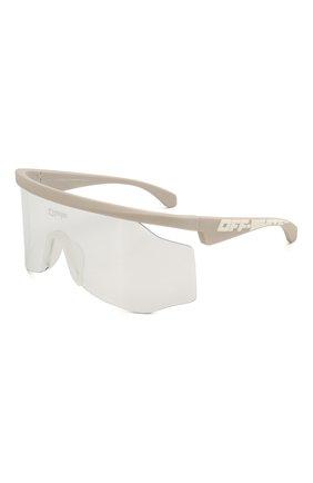 Мужские солнцезащитные очки OFF-WHITE серого цвета, арт. 0MRI003S20I060410601 | Фото 1