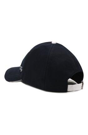 Мужской хлопковая бейсболка PAUL&SHARK темно-синего цвета, арт. E20P7117 | Фото 2