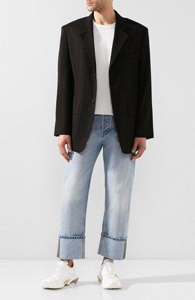 Мужской пиджак JACQUEMUS черного цвета, арт. 205JA01/12990 | Фото 2