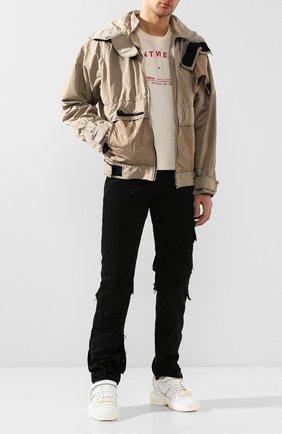 Мужские джинсы RAF SIMONS черного цвета, арт. 201-311A-10134 | Фото 2