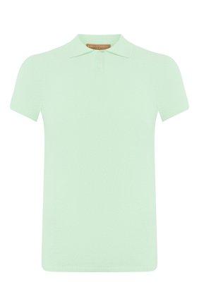 Мужское поло DANIELE FIESOLI светло-зеленого цвета, арт. DF 1042 | Фото 1
