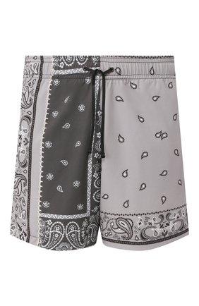 Детского плавки-шорты AMIRI серого цвета, арт. Y0M16389PS | Фото 1