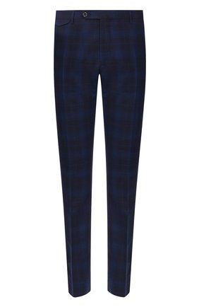 Мужской шерстяные брюки BERWICH темно-синего цвета, арт. VULCAN0/AN1294 | Фото 1