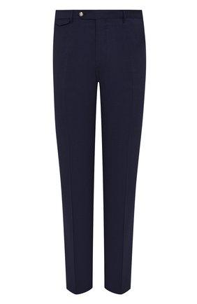 Мужской шерстяные брюки BERWICH темно-синего цвета, арт. VULCAN0/TT1224 | Фото 1