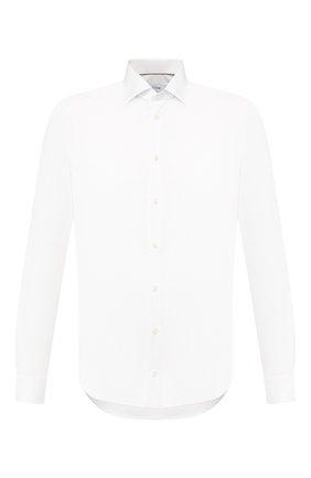 Мужская хлопковая сорочка ETON белого цвета, арт. 3548 79811 | Фото 1