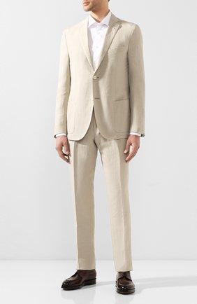 Мужская хлопковая сорочка ETON белого цвета, арт. 3548 79811 | Фото 2
