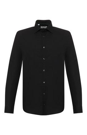 Мужская хлопковая сорочка ETON черного цвета, арт. 3548 79811 | Фото 1