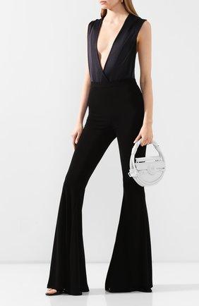 Женское боди BALMAIN черного цвета, арт. TF00960/X372 | Фото 2