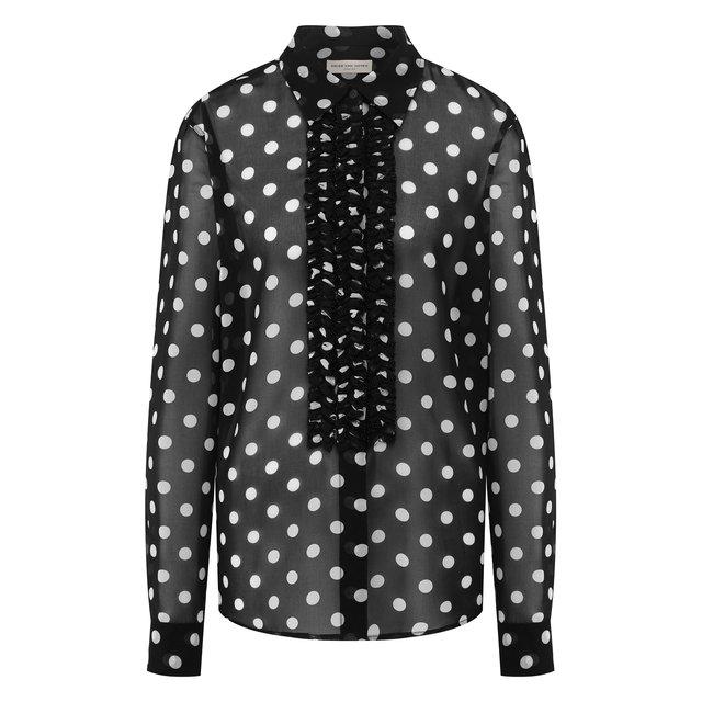 Блузка в горох Dries Van Noten