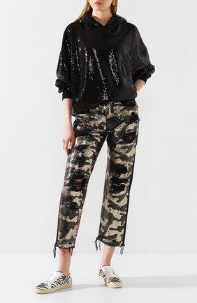 Женские джинсы с пайетками R13 разноцветного цвета, арт. R13W5101-944 | Фото 2