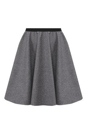 Женская юбка PEFORGIRLS серого цвета, арт. PE.100.2022.01.31502.604 | Фото 1