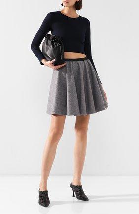 Женская юбка PEFORGIRLS серого цвета, арт. PE.100.2022.01.31502.604 | Фото 2