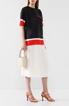 Женская блузка VICTORIA, VICTORIA BECKHAM разноцветного цвета, арт. 2120WTP000648A | Фото 2