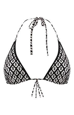 Женский треугольный бра GIANANTONIO PALADINI черно-белого цвета, арт. S03PR01 | Фото 1