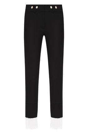 Женские шерстяные брюки ANN DEMEULEMEESTER черного цвета, арт. 2001-1400-P-170-099   Фото 1