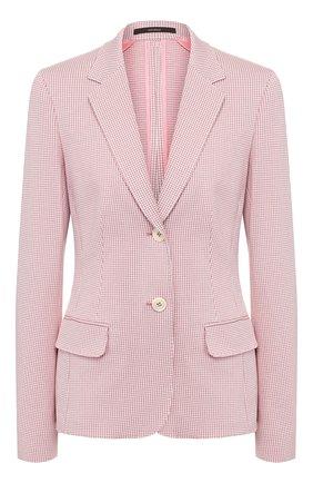 Женский хлопковый жакет WINDSOR розового цвета, арт. 52 DSE304V 10009016   Фото 1