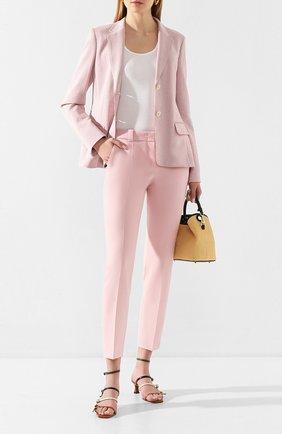 Женский хлопковый жакет WINDSOR розового цвета, арт. 52 DSE304V 10009016   Фото 2