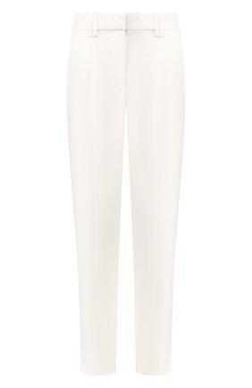 Женские брюки из вискозы BALMAIN белого цвета, арт. TF05172/V089 | Фото 1