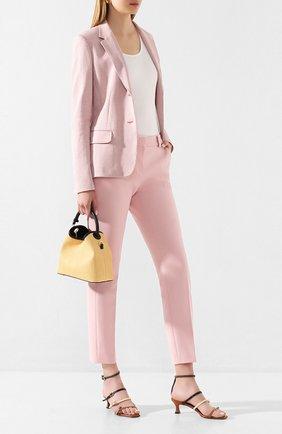 Женские брюки WINDSOR розового цвета, арт. 52 DHE707E 10007039 | Фото 2
