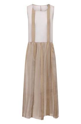 Женское платье UMA WANG светло-серого цвета, арт. P0 W UW5005 | Фото 1