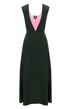 Женское платье из вискозы COLVILLE зеленого цвета, арт. CVS20506 | Фото 1