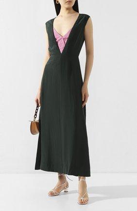 Женское платье из вискозы COLVILLE зеленого цвета, арт. CVS20506 | Фото 2
