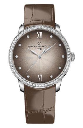 Женские часы 1966 lady GIRARD-PERREGAUX бесцветного цвета, арт. 49523D11A271-CKBA | Фото 1