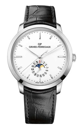 Часы Steel Moon Phase White | Фото №1
