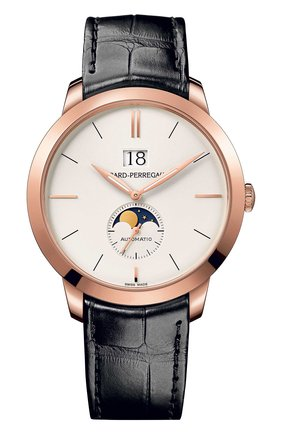 Часы Rose Gold Moon Phase White | Фото №1