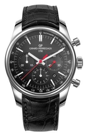 Мужские часы stradale black GIRARD-PERREGAUX черного цвета, арт. 49590-11-611-BB6A | Фото 1