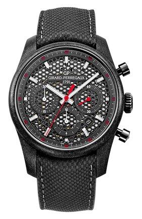 Мужские часы circuito GIRARD-PERREGAUX черного цвета, арт. 49590-39-612-BB6B | Фото 1