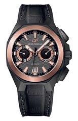 Мужские часы chrono hawk hollywood GIRARD-PERREGAUX бесцветного цвета, арт. 49970-34-232-BB6A | Фото 1