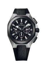 Мужские часы titanium ceramic black chrono GIRARD-PERREGAUX бесцветного цвета, арт. 49971-37-631-BB6A | Фото 1