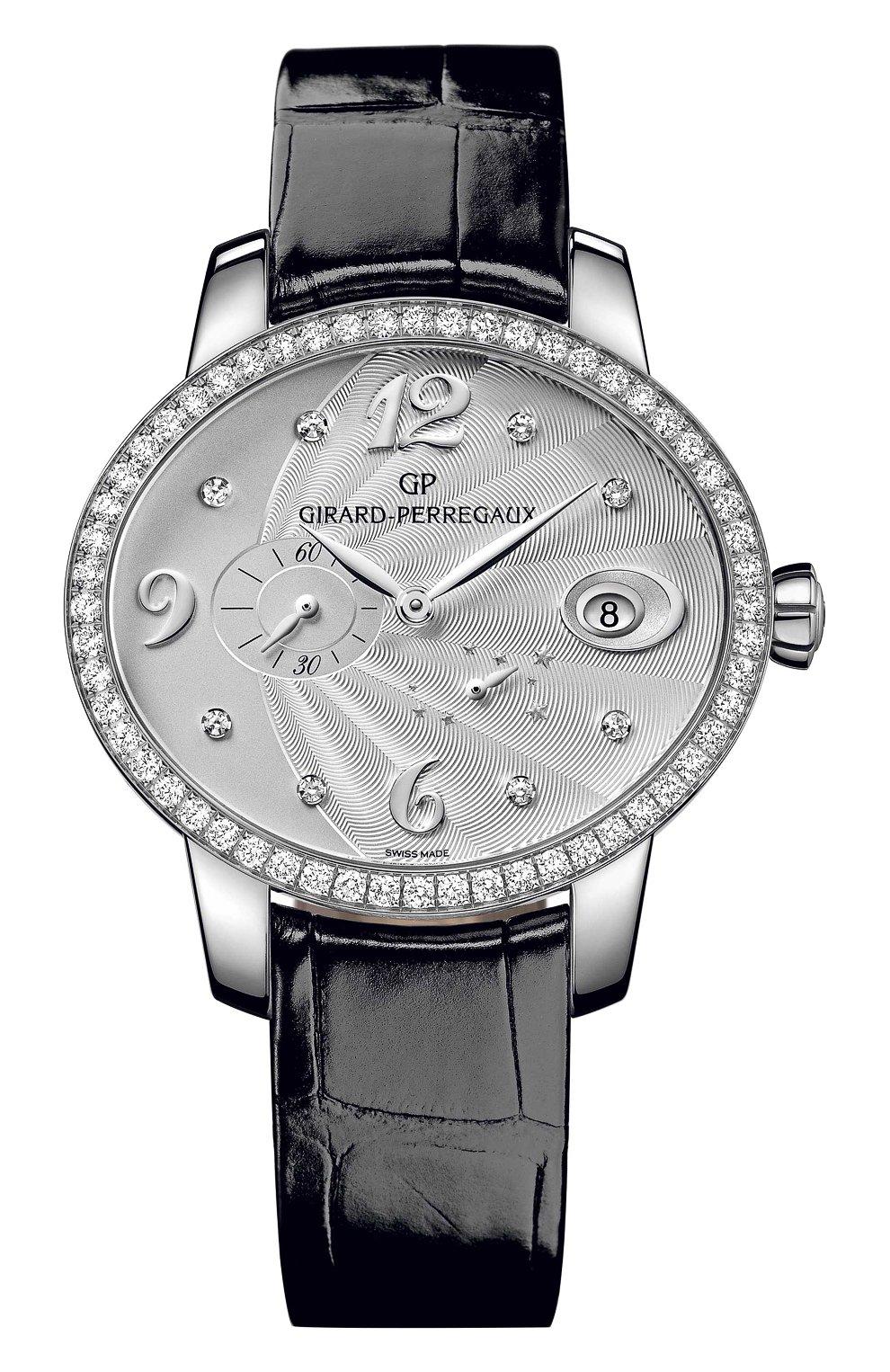 Женские часы power reserve steel GIRARD-PERREGAUX серебряного цвета, арт. 80486D11A161-CK6A   Фото 1