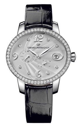 Женские часы power reserve steel GIRARD-PERREGAUX серебряного цвета, арт. 80486D11A161-CK6A | Фото 1