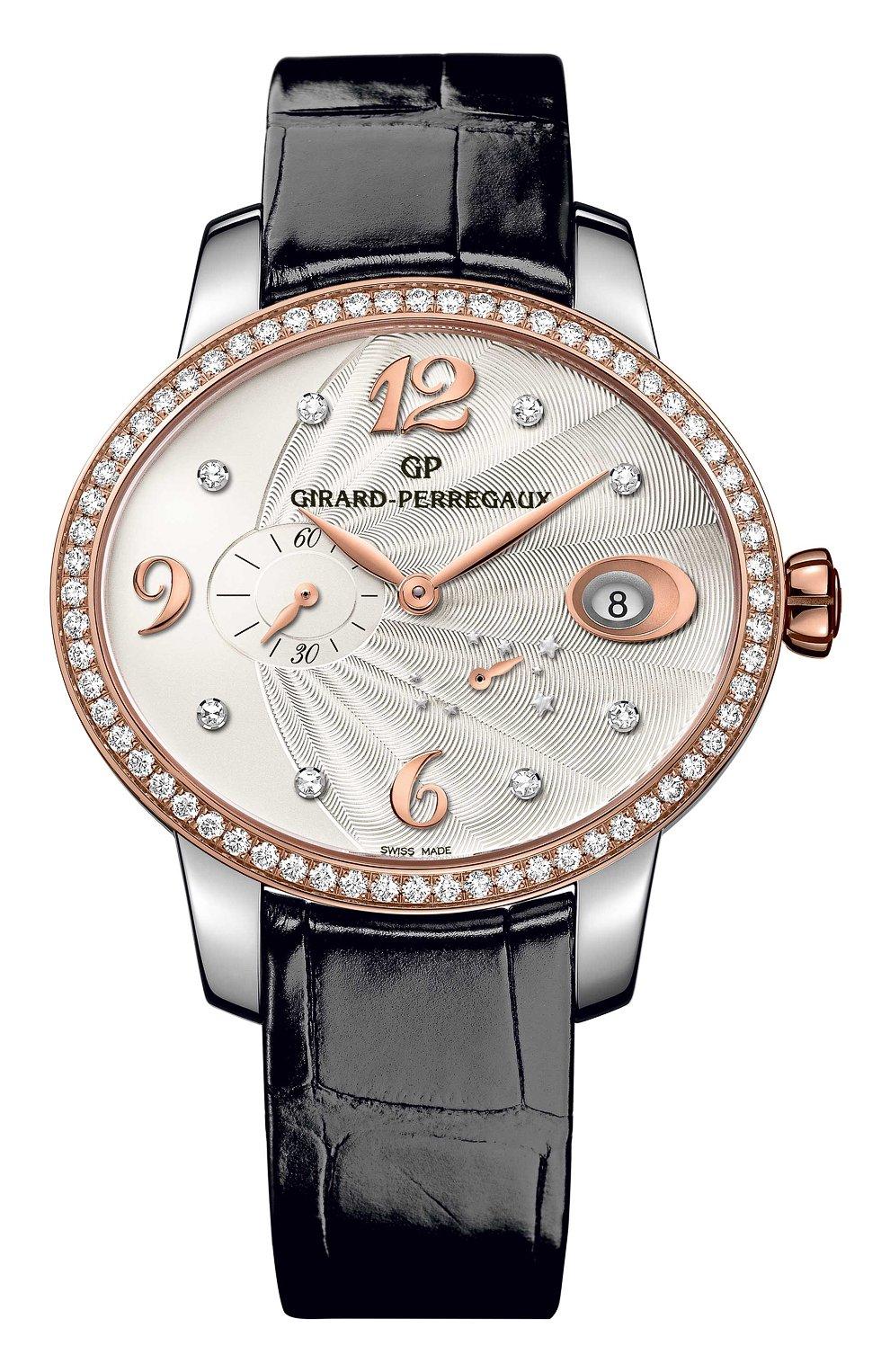 Женские часы power reserve steel and rose gold GIRARD-PERREGAUX серебряного цвета, арт. 80486D56A162-CK6A   Фото 1