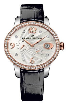 Женские часы power reserve steel and rose gold GIRARD-PERREGAUX серебряного цвета, арт. 80486D56A162-CK6A | Фото 1