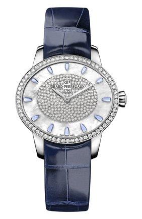 Женские часы sparkle GIRARD-PERREGAUX перламутрового цвета, арт. 80489D53A1B5-CK4A | Фото 1