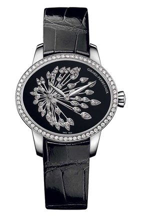 Женские часы anniversary black GIRARD-PERREGAUX черного цвета, арт. 80489D53A601-CK6A | Фото 1