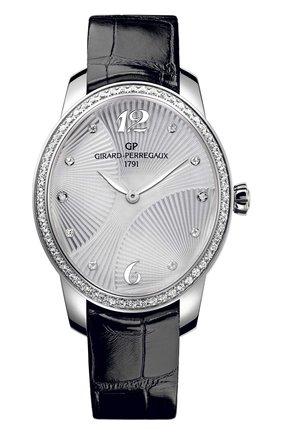 Женские часы majestic steel GIRARD-PERREGAUX серебряного цвета, арт. 80493D11A161-CK6A   Фото 1